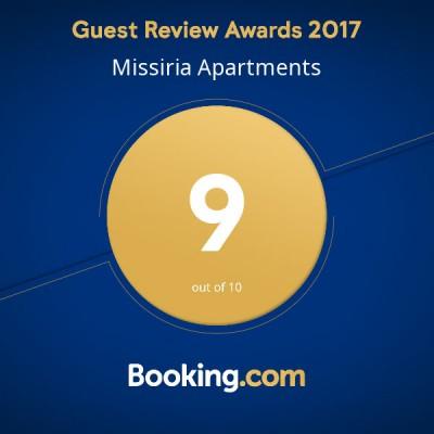 Missiria booking awards 2017